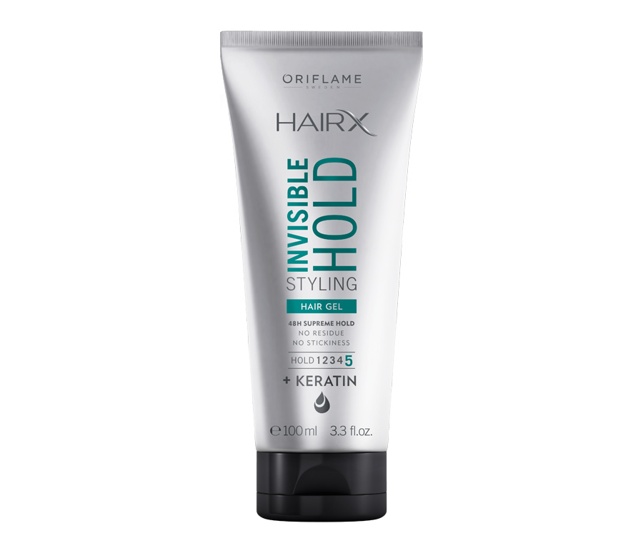HAIRX INVISIBLE FIXING STYLING GEL